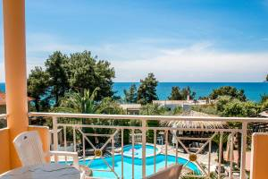 Triple room & extra bed, Potos Hotel, Thassos, hotels, rooms, Apartments, accommodation, holidays