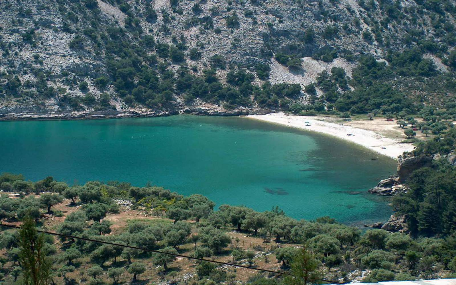 Beaches of Thassos  Livadi Beach